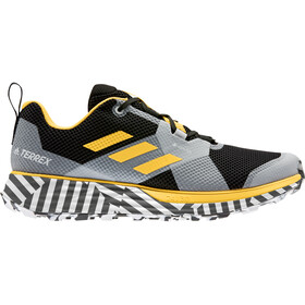 adidas TERREX Two Gore-Tex Trail Running Schuhe Herren sogold/core black/footwear white